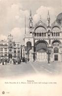 R419977 Venezia. Dalla Piazzetta Di S. Marco. Verso La Torre Dell Orologio. Brunnen And C - Cartoline