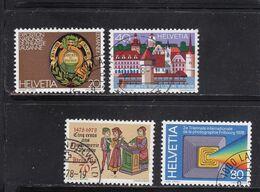Schweiz, Nr. 1116/19 Gest. (T 17785) - Usati
