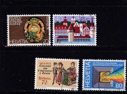 Schweiz, Nr. 1116/19 Gest. (T 17786) - Usati