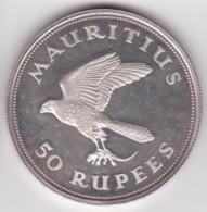Ile Maurice 50 Rupees 1975 Elizabeth II Argent KM# 41 - Mauritius