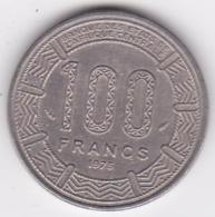 République Populaire Du Congo. 100 Francs 1975, En Nickel. KM# 1 - Congo (Republic 1960)