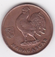 MADAGASCAR. FRANCE LIBRE. 1 Franc 1943. BRONZE - Madagaskar