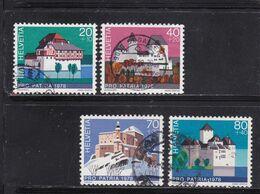 Schweiz, Nr. 1130/33 Gest. (T 17787) - Usati
