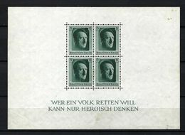 ALLEMAGNE Blocs&Feuillets 1937:  Le Y&T 8 Neuf* - Deutschland