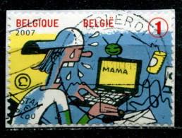 Belgique 2007 - YT 3695 (o) Sur Fragment - Belgium