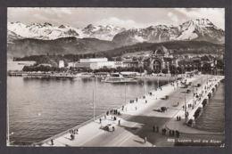109786/ LUZERN Und Die Alpen - LU Lucerne