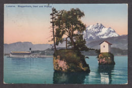 109791/ LUZERN, Meggenhorn, Insel Und Pilatus - LU Lucerne