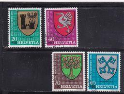 Schweiz, Nr. 1142/45 Gest. (T 17788) - Usati