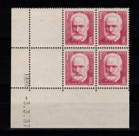 Coin Daté - YV 304 N** Hugo Du 3.3.37 - 1930-1939