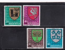 Schweiz, Nr. 1142/45 Gest. (T 17789) - Usati