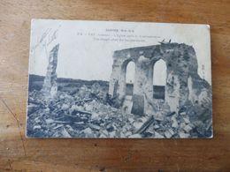 FAY (Somme)  L'église Après Le Bombardement     -  ( Guerre  1914-1916 ) - Guerre 1914-18