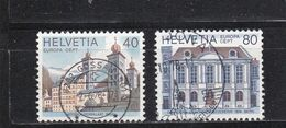 Schweiz, Nr. 1128/29, Gest. (T 17792) - Usati