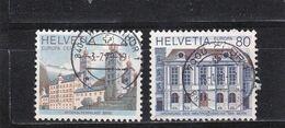 Schweiz, Nr. 1128/29, Gest. (T 17793) - Usati