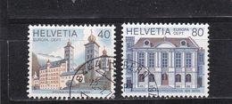 Schweiz, Nr. 1128/29, Gest. (T 17794) - Usati