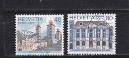 Schweiz, Nr. 1128/29, Gest. (T 17795) - Usati