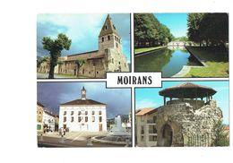 Cpm - 38 - Moirans - Multivues - église Parc De La Grille Mairie Tour - 1993 - Moirans