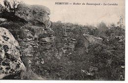 NEMOURS - ROCHER DU BEAUREGARD - LA CORNICHE - Nemours