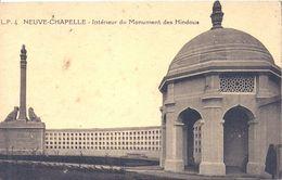08 - 2020 - PAS DE CALAIS - 62 - NEUVE CHAPELLE -  Intérieur Monument Des Hindous Morts De La Grande Guerre - France