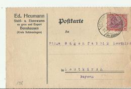 DR GS 1922 - Storia Postale