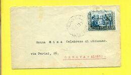 STORIA POSTALE ITALIA 1946-60  - - 1946-60: Marcofilia