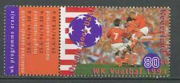 Netherlands 1994 Football Soccer World Cup Stamp MNH - Fußball-Weltmeisterschaft