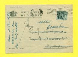 STORIA POSTALE ITALIA 1946-60  - DEMOCRATICA - 1946-60: Marcofilia