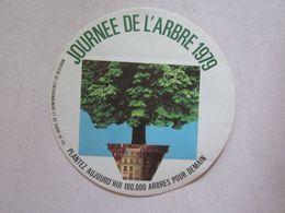 Publicité > Autocollants Autocollant Journée De L'arbre 1979 - Autocollants