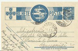 PORTUGAL GS 1933 - Postal Stationery