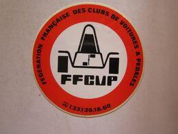 Publicité > Autocollants Autocollant Voiture à Pédales Fédération Des Clubs Voitures à Pédales - Autocollants