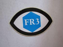 Publicité > Autocollants Autocollant Fr3 France Télévision - Autocollants