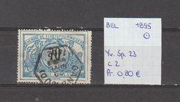 België 1895 - Spoorweg/Colis Postaux Yv. 23 - OCB TR23 Gest./obl./used - Railway