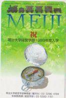 CLOCK - WATCH - JAPAN-074 - MEIJI - Advertising