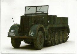 "German Half-track Sd.Kfz9.""Famo"" Artillerie-Regiment 84 (Wehrmacht) 1944 ,  Sent To Andorra - Guerre 1939-45"