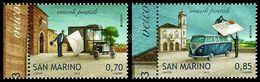 San Marino 2013: Europa - Veicoli Postali / Postal Vehicles ** - 2015