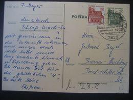 Deutschland BRD Ganzsache 1966- Postkarte Mit Sonderstempel Lenzkirch - Cartoline - Usati