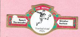 Sigarenband - OLD DUTCH - Sport Vermaakt - Voetballokaal MOL Ginderbuiten - Sigarenbandjes