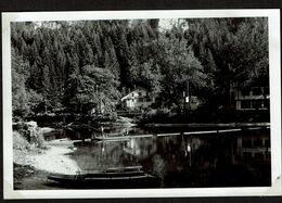 Photo 14,5 Cm X 9,5 Cm - 1934 - Au Saut Du Doubs - Le Doubs à L'entrée Des Gorges - 2 Scans - Andere Gemeenten