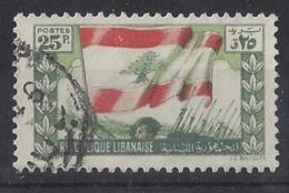 "LABANON......"" 1946.."".....VICTORY........SG217.........VFU... - Liban"