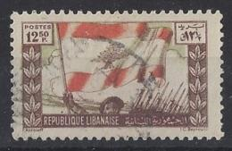 "LABANON......"" 1946.."".....VICTORY........SG214.........VFU... - Liban"