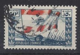 "LABANON......"" 1946.."".....VICTORY.......50p..........VFU... - Liban"