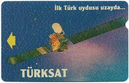 Turkey - TT - Alcatel - R Advert. Series - Turksat Satellite, R-054, (Backside PTT), 30U, 1995, Used - Turquie