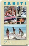 French Polynesia - OPT - Tahiti - Gem1A Symmetr. Black, 09.1995, 30Units, 50.000ex, Used - Polynésie Française