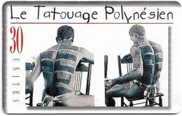 French Polynesia - OPT - Tatoo Tino - Gem1A Symmetr. Black, 11.1999, 30Units, 110.000ex, Used - Polynésie Française