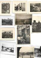 LOT    33 PHOTOS 1940 / 1944 SOLDATS ALLEMANDS EN FRANCE - 1939-45