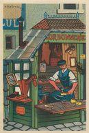 CORDONNIER - 1943 - AU PROFIT De L' ENTRAIDE FRANCAISE - ILLUSTRATEUR Rémy HETREAU - édit GRAND LUXE LIMITEE - Artisanat