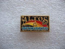 Pin's ALTOS, Computer System - Informatique