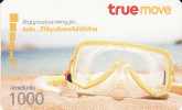 Thailand Phonecard True - Glass Brille  1000 Baht - Thaïlande