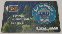 Télécarte - LA VOSGIENNE - SUC DES VOSGES - Advertising
