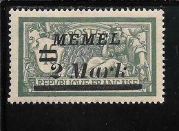 MEMEL N°69 ** TB SANS DEFAUTS - Memel (1920-1924)