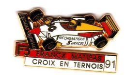 Pin's Formule 3 Franck Matifas  Croix En Ternois 91 Zamac  Arthus Bertrand - Arthus Bertrand